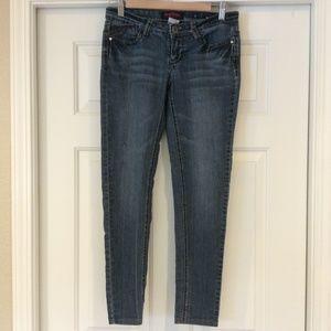 FreeStyle Revolution Low Rise Skinny Jeans JR Sz 3